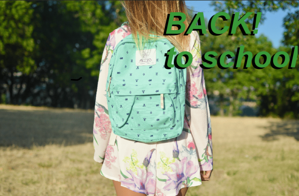 Guest Post: BACK to School