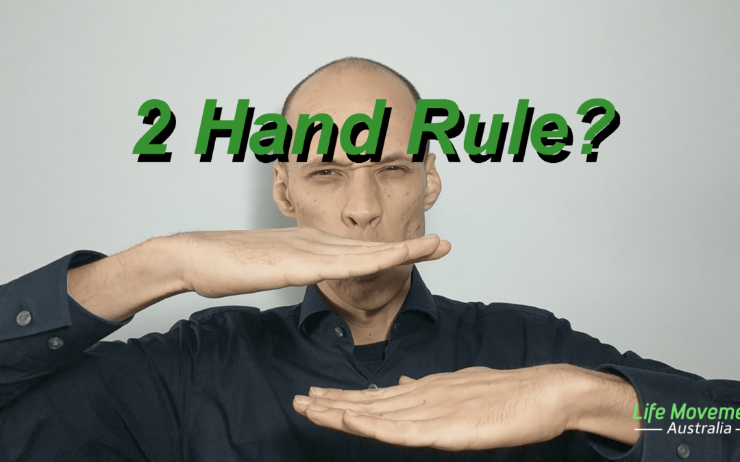 [Review] Posture Series: 2 Hand Rule