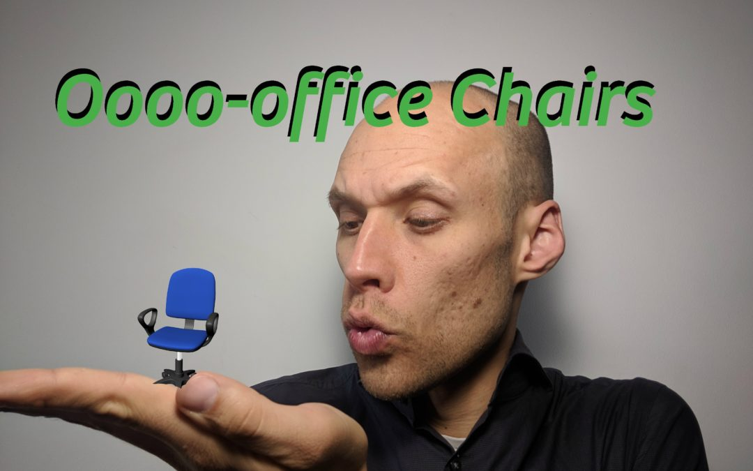 [Life Nugget] Office Chair Tips