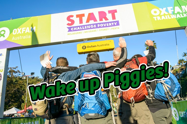 Wake up those Toes! – Oxfam Trailwalker Edition